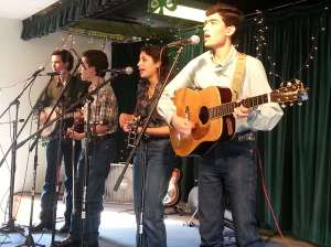 Food pantry fundraiser concert with Wimberly Bluegrass Band