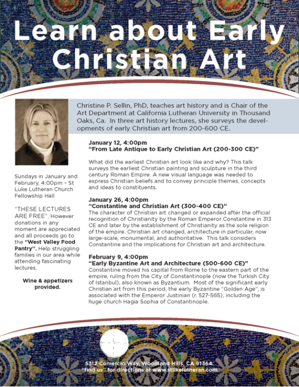 Christian Art Flyer